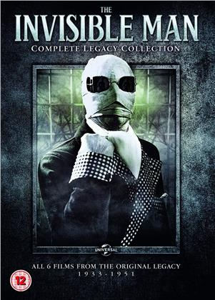 The Invisible Man - Complete Legacy Collection (6 DVDs)