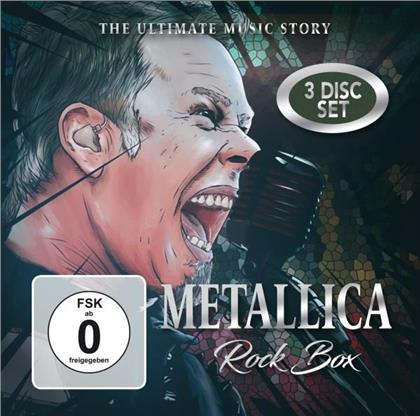 Metallica - Rock Box - The Ultimate Music (2 CDs + DVD)