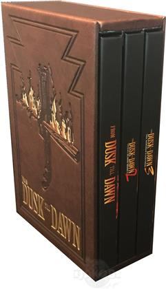 From Dusk Till Dawn - Trilogy (Leatherbook, Limited Edition, Mediabook, Uncut, 4 Blu-rays)