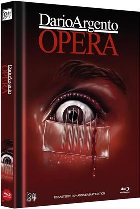 Opera (1987) (Cover B, 30th Anniversary Limited Edition, Langfassung, Mediabook, Remastered, 2 Blu-rays + 2 DVDs)