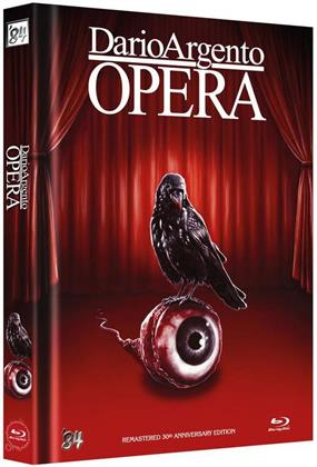 Opera (1987) (Cover D, 30th Anniversary Limited Edition, Mediabook, Remastered, 2 Blu-rays + 2 DVDs)