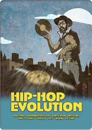 Hip Hop Evolution (Limited Edition, 2 DVDs)