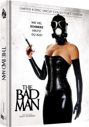 The Bad Man (2018) (Cover C, Limited Collector's Edition, Mediabook, Uncut, Blu-ray + 2 DVDs + CD)