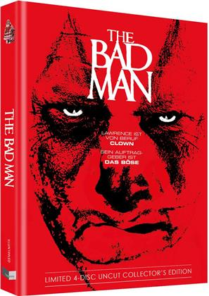 The Bad Man (2018) (Cover D, Limited Collector's Edition, Mediabook, Uncut, Blu-ray + 2 DVDs + CD)