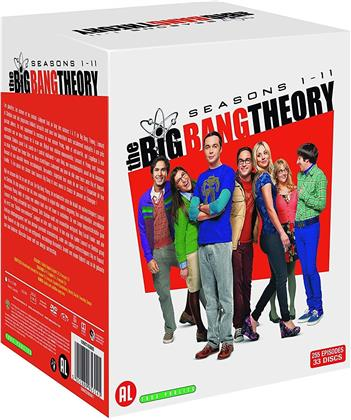 The Big Bang Theory - Saisons 1-11 (33 DVDs)