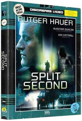 Split Second (1992) (VHS-Edition, Limited Edition, Mediabook, 2 Blu-rays + 2 DVDs)