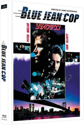 Blue Jean Cop (1988) (Cover E, Limited Edition, Mediabook, 2 Blu-rays)