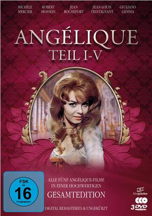 Angélique 1-5 (Filmjuwelen, Remastered, 3 DVDs)