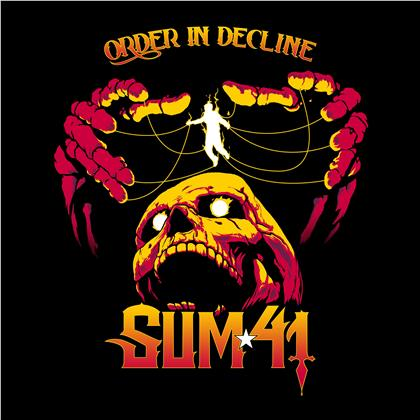Sum 41 - Order In Decline (2 Bonustracks, Guitar Pick)