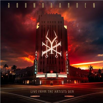 Soundgarden - Live From The Artists Den (Deluxe Edition, 4 LPs + 2 CDs + Blu-ray)