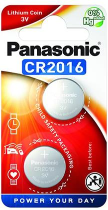 Panasonic Lithium Power 2x CR2016