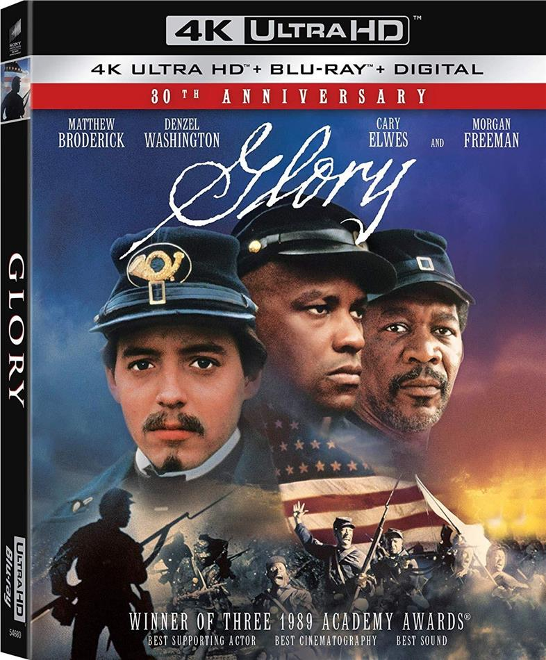 Glory (1989) (30th Anniversary Edition, 4K Ultra HD + Blu-ray)