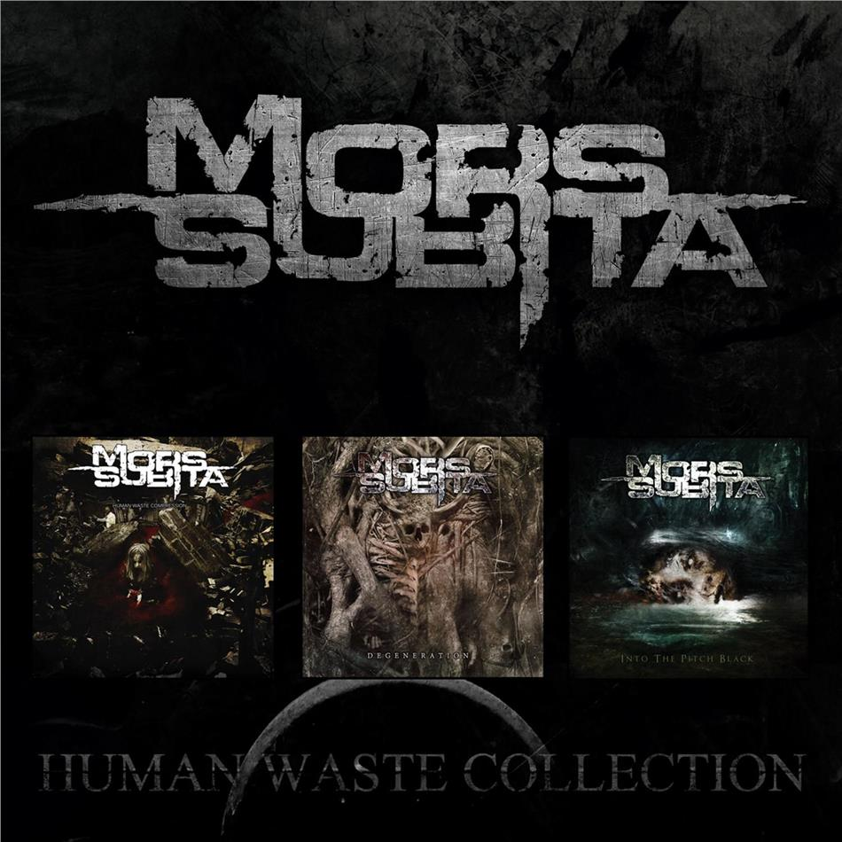 Mors Subita - Human Waste Collection (3 CDs)