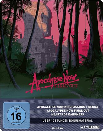 Apocalypse Now (1979) (Final Cut, 40th Anniversary Limited Edition, Steelbook, 3 Blu-rays)