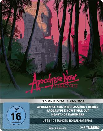 Apocalypse Now (1979) (Final Cut, 40th Anniversary Limited Edition, Steelbook, 4K Ultra HD + 2 Blu-rays)