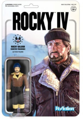 Rocky 4 Reaction Figures - Rocky (Winter Training)