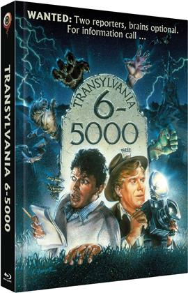Transylvania 6-5000 (1985) (Cover A, Limited Collector's Edition, Mediabook, Blu-ray + DVD)