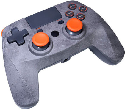 PS4 Controller Game:Pad 4S wirel. rock Snakebyte Bluetooth grey-orange