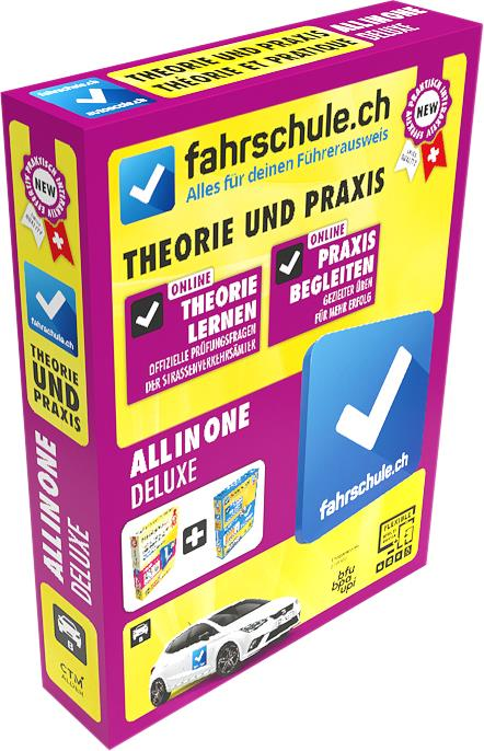 CH-Fahrschule Deluxe Box - All in One 2019