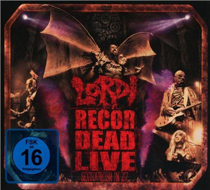 Lordi - Recordead Live-Sextourcism in Z7 (2 CDs + DVD)