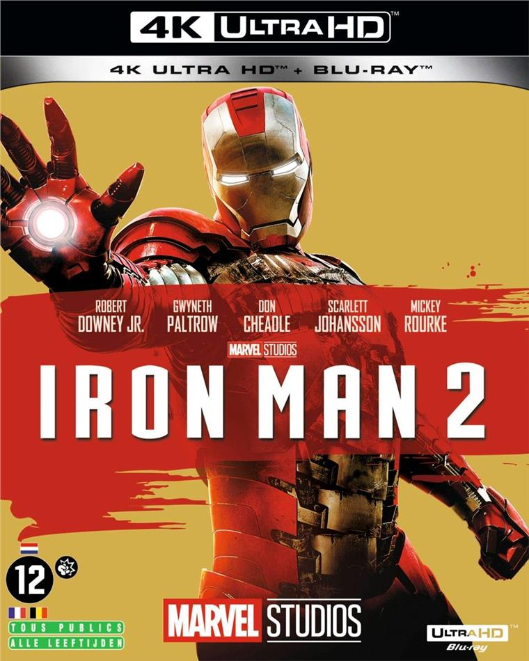Iron Man 2 (2010) (4K Ultra HD + Blu-ray)