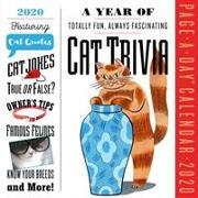 A Year of Cat Trivia Page-A-Day Calendar 2020