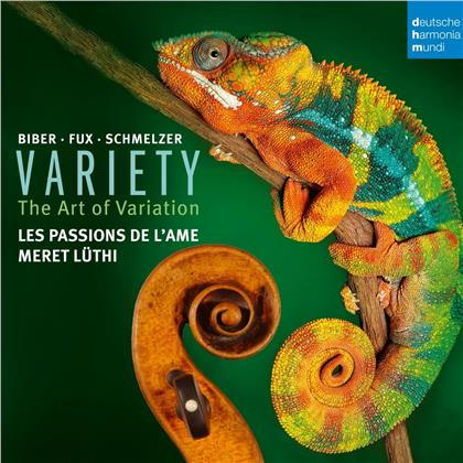 Les Passions de l'Ame - Variety - The Principle Of Variation in Music For Violin