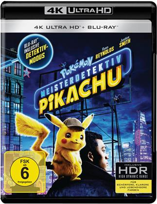 Meisterdetektiv Pikachu - Pokemon (2019) (4K Ultra HD + Blu-ray)