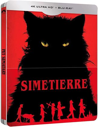 Simetierre (2019) (Limited Edition, Steelbook, 4K Ultra HD + Blu-ray)