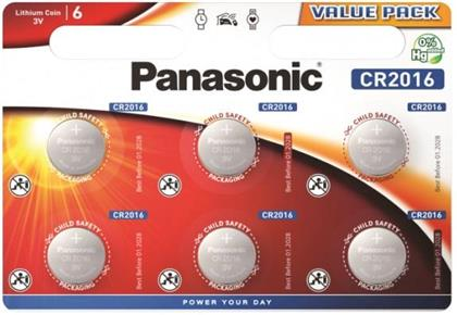 Panasonic Lithium Power 6x CR2016