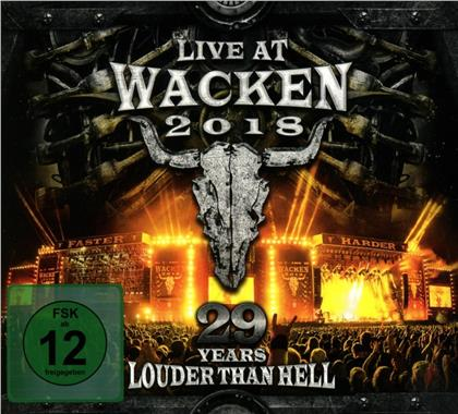 Live At Wacken 2018:29 Years Louder Than Hell (CD + DVD)