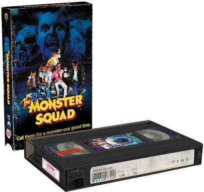 Monster Busters (1987) (VHS Retro Edition, Cover B, Limited Edition, Blu-ray + DVD)
