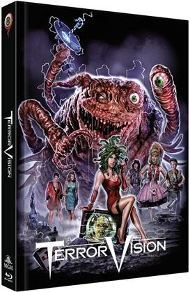 Terror Vision (1986) (Cover B, Limited Collector's Edition, Mediabook, Blu-ray + DVD)