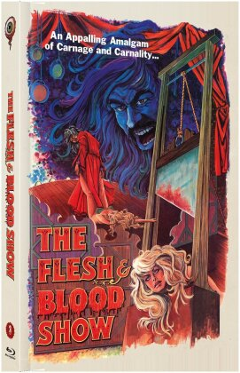 The Flesh and Blood Show (1972) (Cover A, Limited Collector's Edition, Mediabook, Blu-ray + DVD)