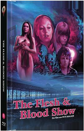 The Flesh and Blood Show (1972) (Cover B, Limited Collector's Edition, Mediabook, Blu-ray + DVD)