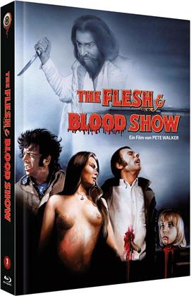 The Flesh and Blood Show (1972) (Cover C, Limited Collector's Edition, Mediabook, Blu-ray + DVD)