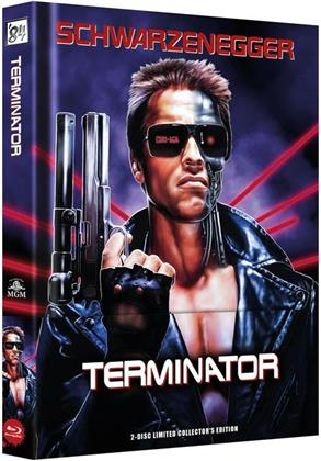 Terminator (1984) (Limited Collector's Edition, Mediabook, Uncut, Blu-ray + DVD)