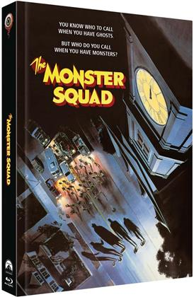 The Monster Squad (1987) (Cover D, Limited Collector's Edition, Mediabook, Blu-ray + 2 DVDs)