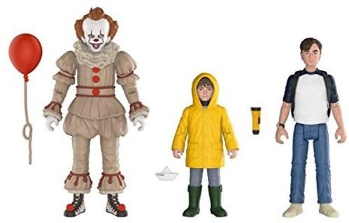 Funko Action Figures - It - Pennywise, George, Bill 3Pk