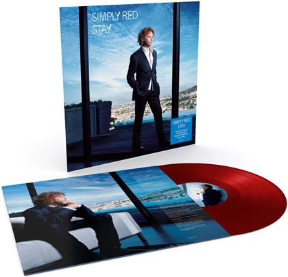 Simply Red - Stay (2019 Reissue, Demon Records, Red Vinyl, LP)