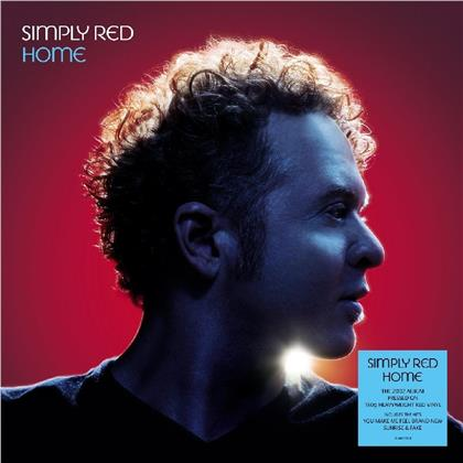 Simply Red - Home (2019 Reissue, Demon Records, Red Vinyl, LP)
