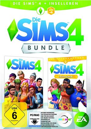 Die Sims 4 Bundle + Inselleben - (Code in a Box) (German Edition)