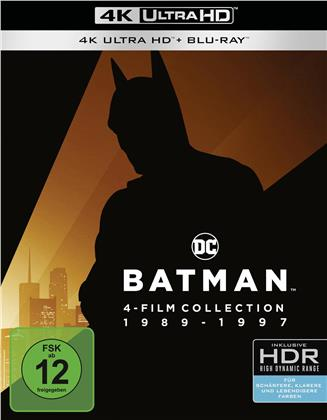 Batman 1989-1997 (4 4K Ultra HDs + 4 Blu-ray)