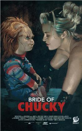 Bride of Chucky (1998) (Grosse Hartbox, Limited Edition, Uncut, Blu-ray + Hörbuch)