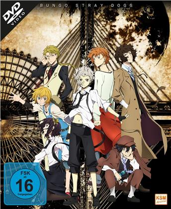 Bungo Stray Dogs - Staffel 1 (Gesamtedition, 3 DVDs)