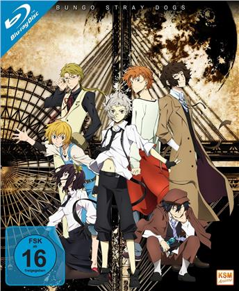 Bungo Stray Dogs - Staffel 1 (Gesamtedition, 3 Blu-rays)