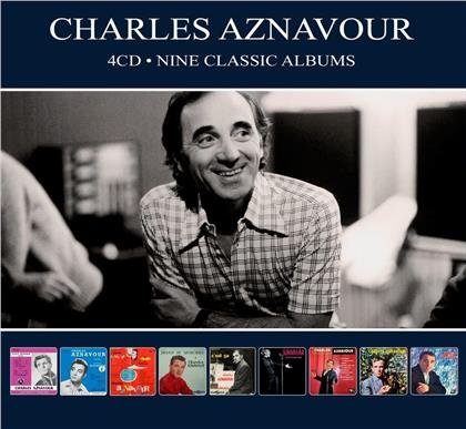 Charles Aznavour - Nine Classic Albums (4 CDs)