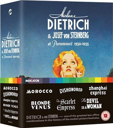 Marlene Dietrich & Josef von Sternberg at Paramount 1930-1935 - Morocco / Dishonored / Shanghai Express / Blonde Venus / The Scarlet Empress / The Devil is a Woman (Limited Edition, 6 Blu-rays)