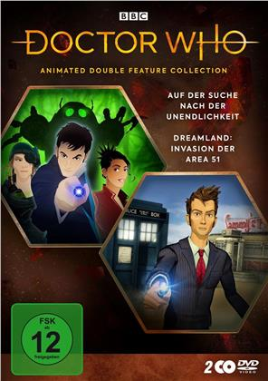Doctor Who - Animated Double Feature Collection - Auf der Suche nach der Unendlichkeit / Dreamland: Invasion der Area 51