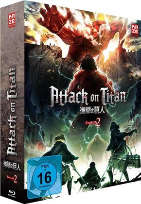 Attack on Titan - Staffel 2 - Vol. 1 (+ Sammelschuber, Limited Edition)